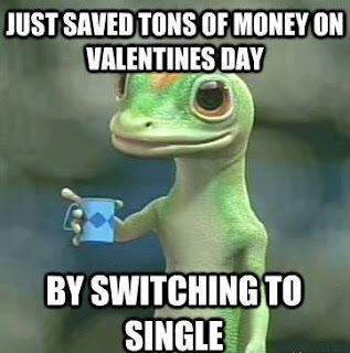 Funny Facebook Status Single On Valentines Day Funny Facebook Quote Funny Valentine Memes Funny Valentines Day Quotes Single Humor