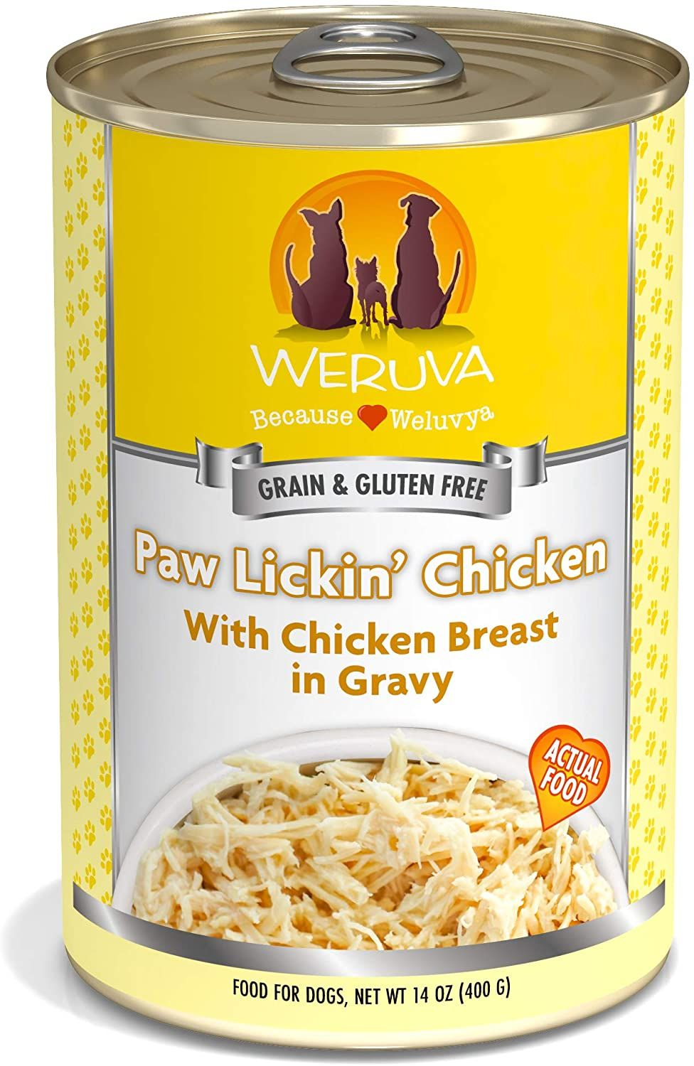Weruva GrainFree Natural Canned Wet Dog Food in 2020