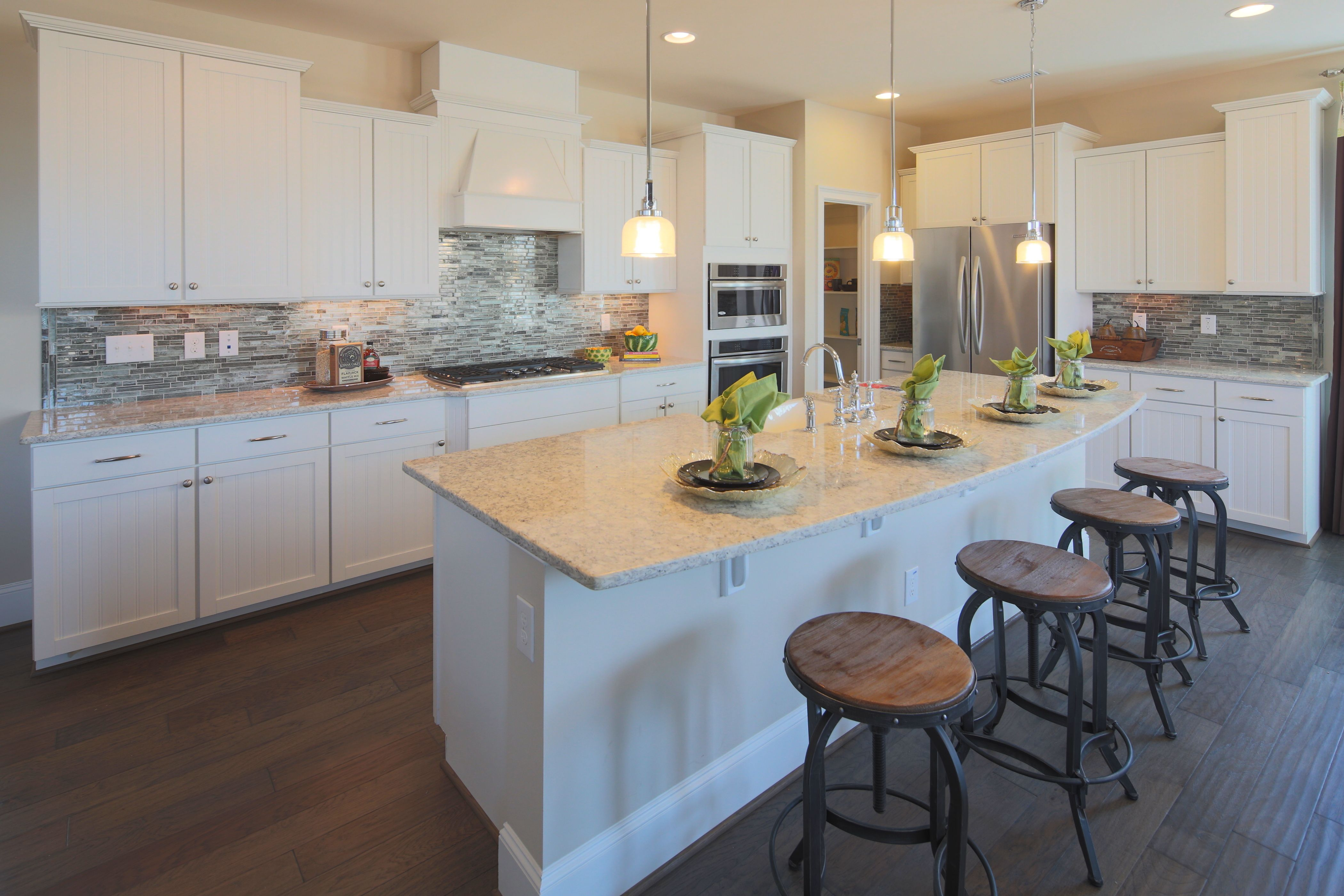 Love The Kitchen By Beazer Homes In The Oakwood Plan At Briar Chapel Kitchen Inspirations Home Kitchens Home Decor Styles