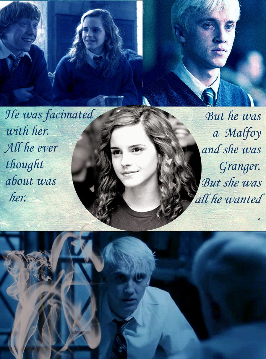 Dramione By Misguided Hunter On Deviantart Harry Potter Fandom Dramione Harry Potter