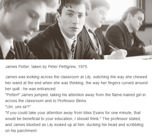 the marauders - james potter by The Scrapbook