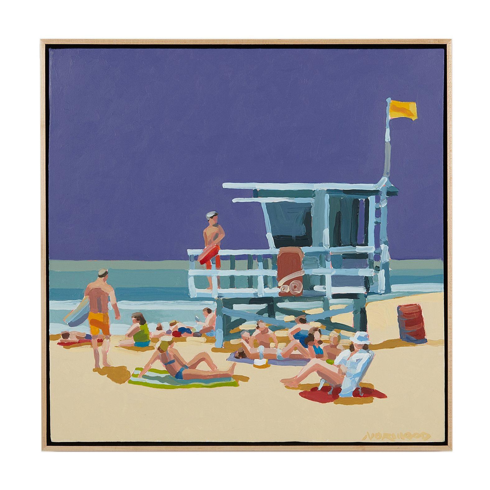 old WEYMOUTH Seaside uk Travel Antique oster print art painting large