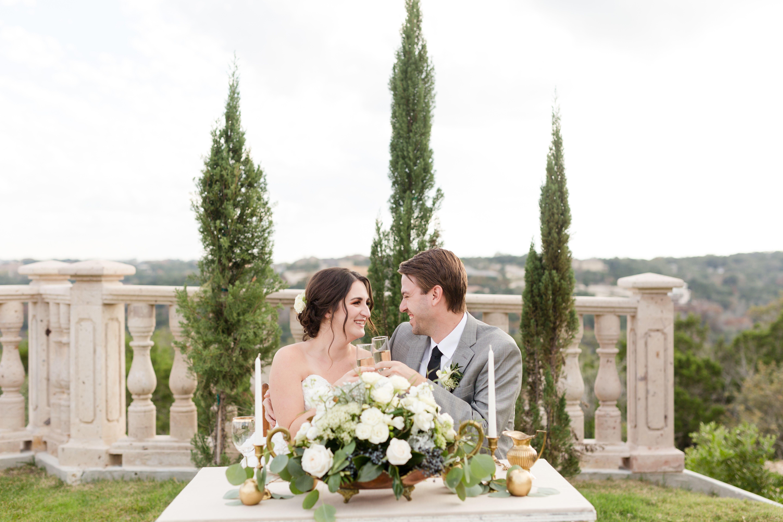 The Villa at Cielo Vista Wedding, Wedding reception