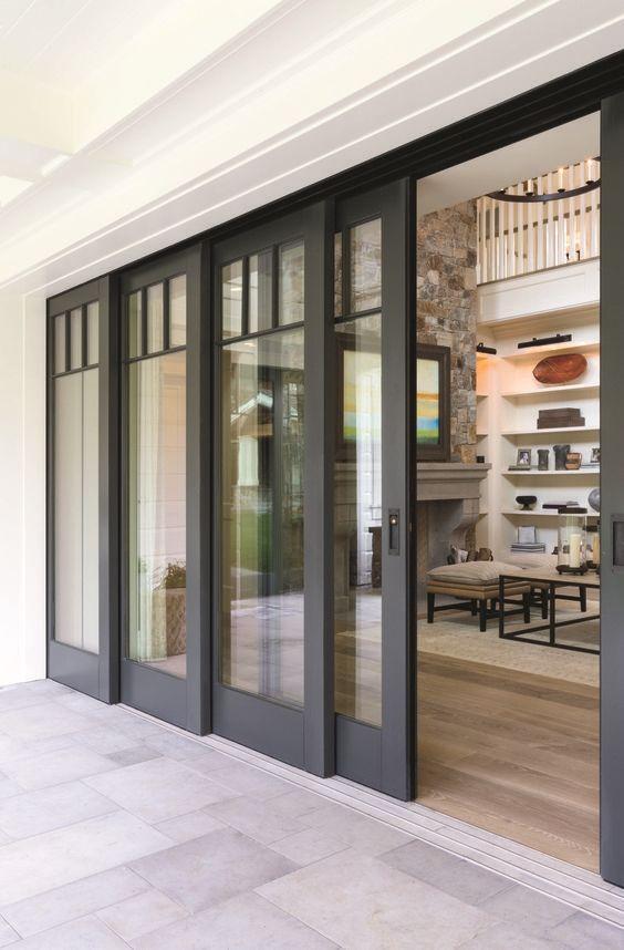 42 Stunning Exterior Home Designs: 43 Stunning External Patio Doors