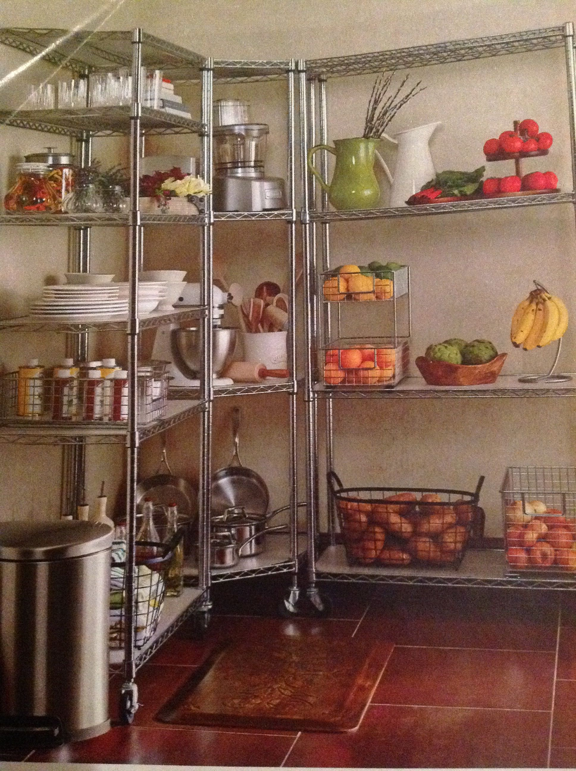 kitchen storage shelf design ideas images commercial quality steel shelving unit from frontgate 18