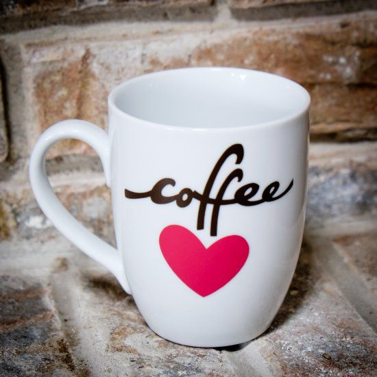 Make A Cute Coffee Mug Using Vinyl And Your Cricut Diy Mugs