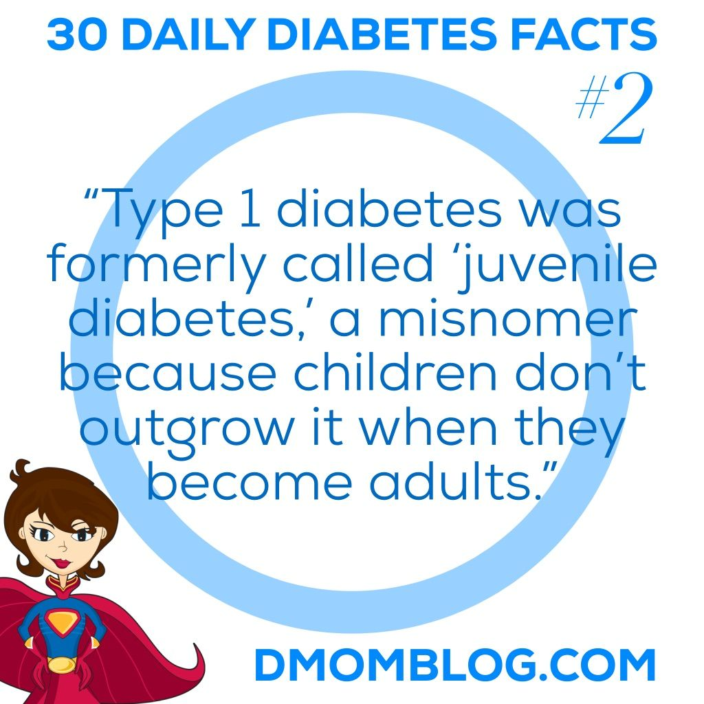 Type 1 Diabetes Was Formerly Called Juvenile Diabetes Type 1 Diabetes Pinterest Diabetes Awareness Diabetes And Diabetes Facts