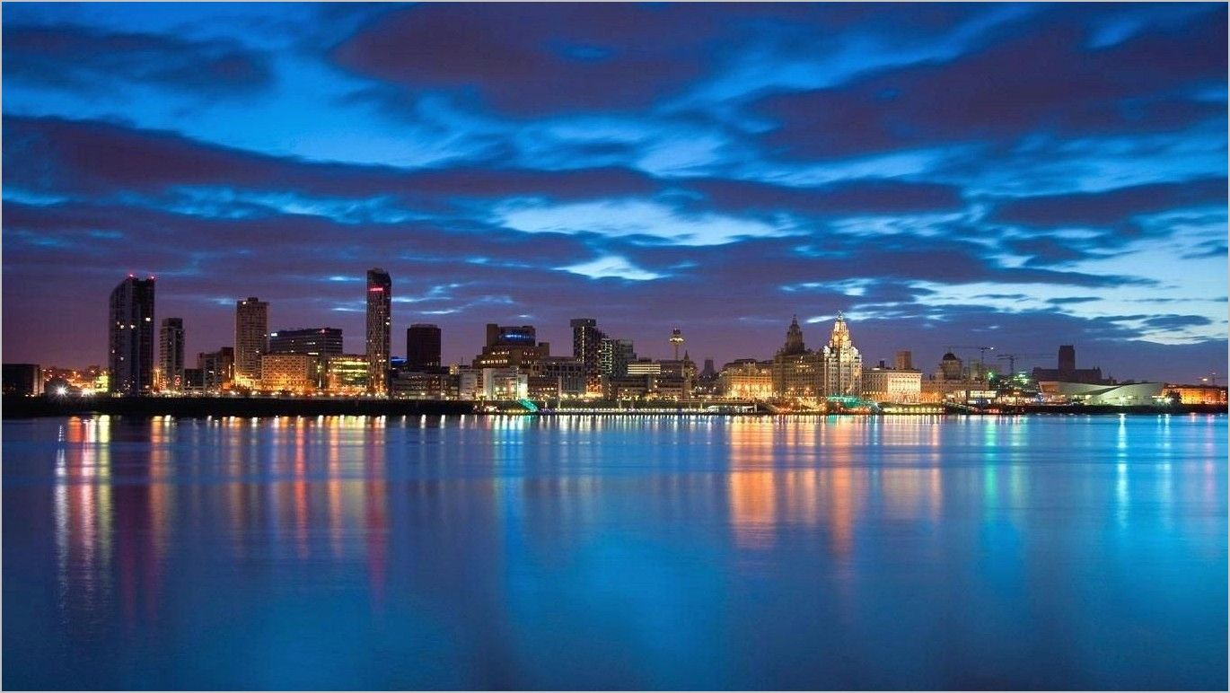 4k Waterfront Wallpaper For Pc Liverpool Images Liverpool City City Wallpaper