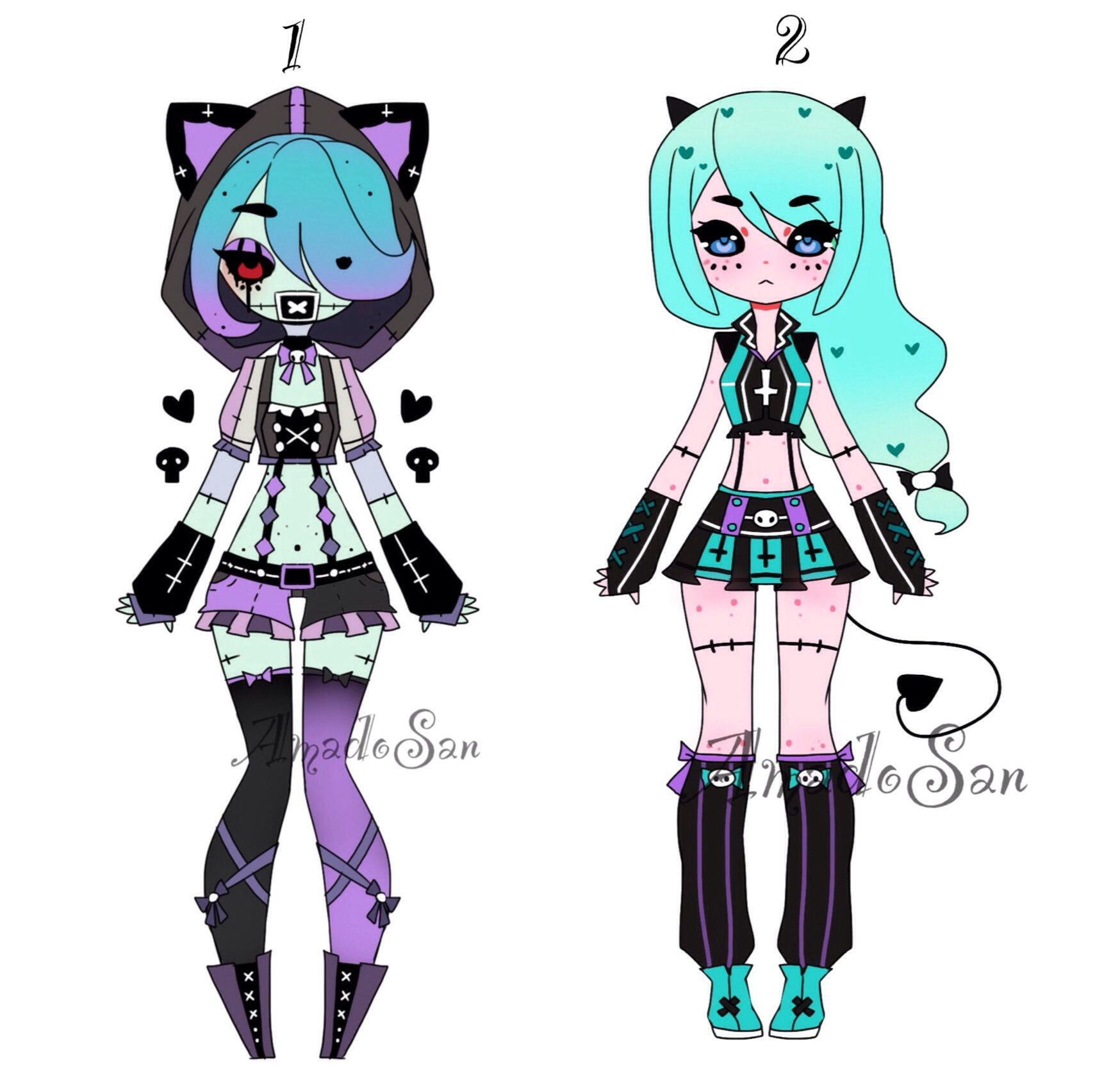 Anime Batch Charlotte: Zombie Adoptable Closed By AS-Adoptables.deviantart.com On