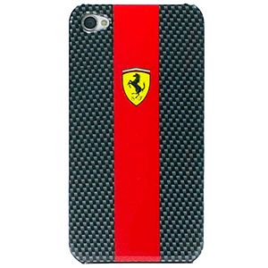 #Scuderia #Ferrari Carbon Hard Shell Case for #iPhone 4 & 4S - Carbon Fiber / Red $34.99 From #DayDeal