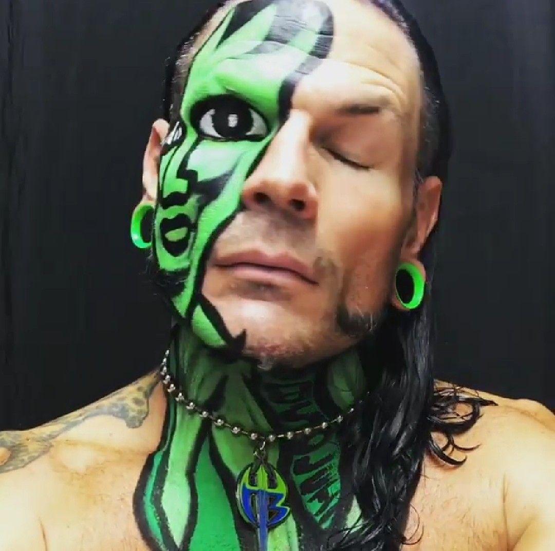 Pin by Jessica Courtney on My man Jeff hardy ️   Wwe jeff ...Jeff Hardy Wrestlemania 25 Face Paint