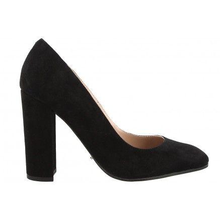 NEW ARRIVALS // 'BLISS' in Black Kid Suede. #tonybianco #heels