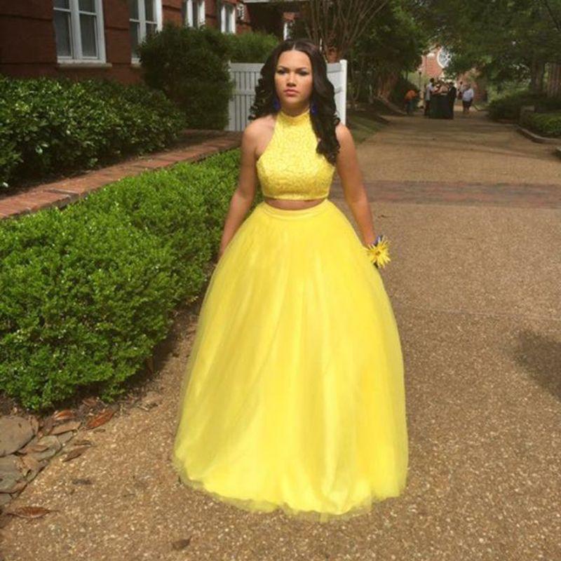 b32ec3c1a2b07 Prom Dresses,2 Pieces Prom Dresses, 2017 Prom Dresses,2 Piece Prom ...