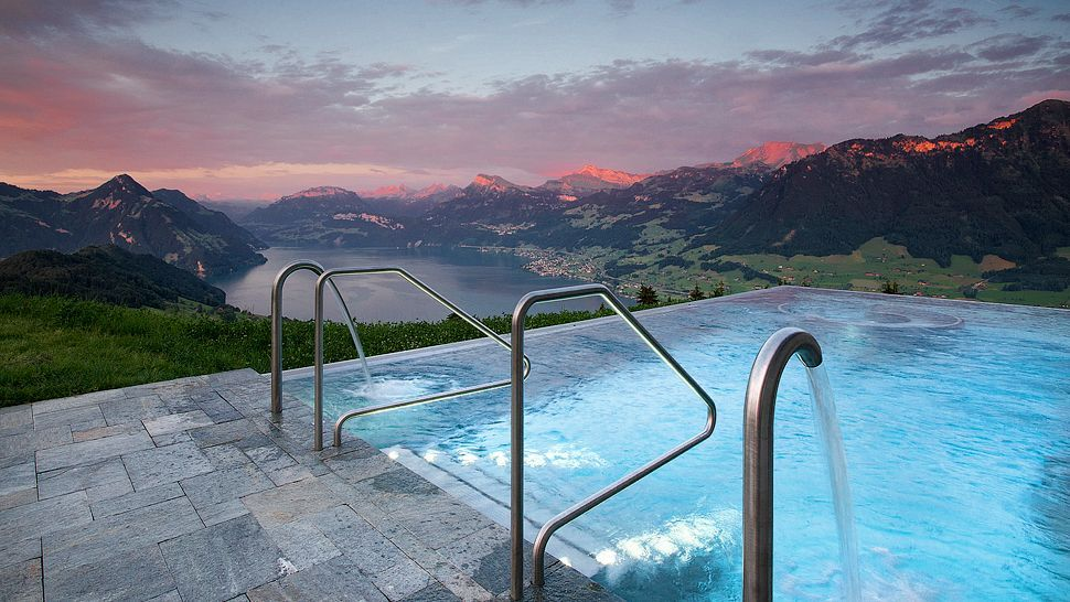 Breathtaking Capture At The Hotel Villa Honegg Switzerland Cc