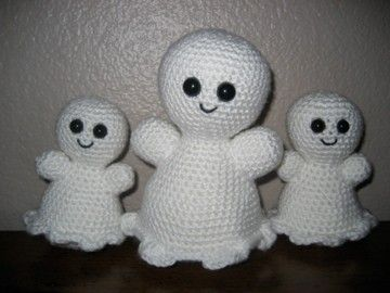 Halloween Amigurumi Crochet Pattern : Sweet ghosts amigurumi crochet pattern amigurumi crochet and patterns