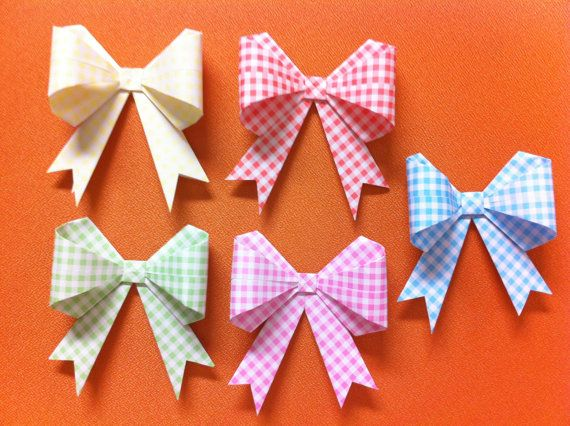 Origami Gift Bow