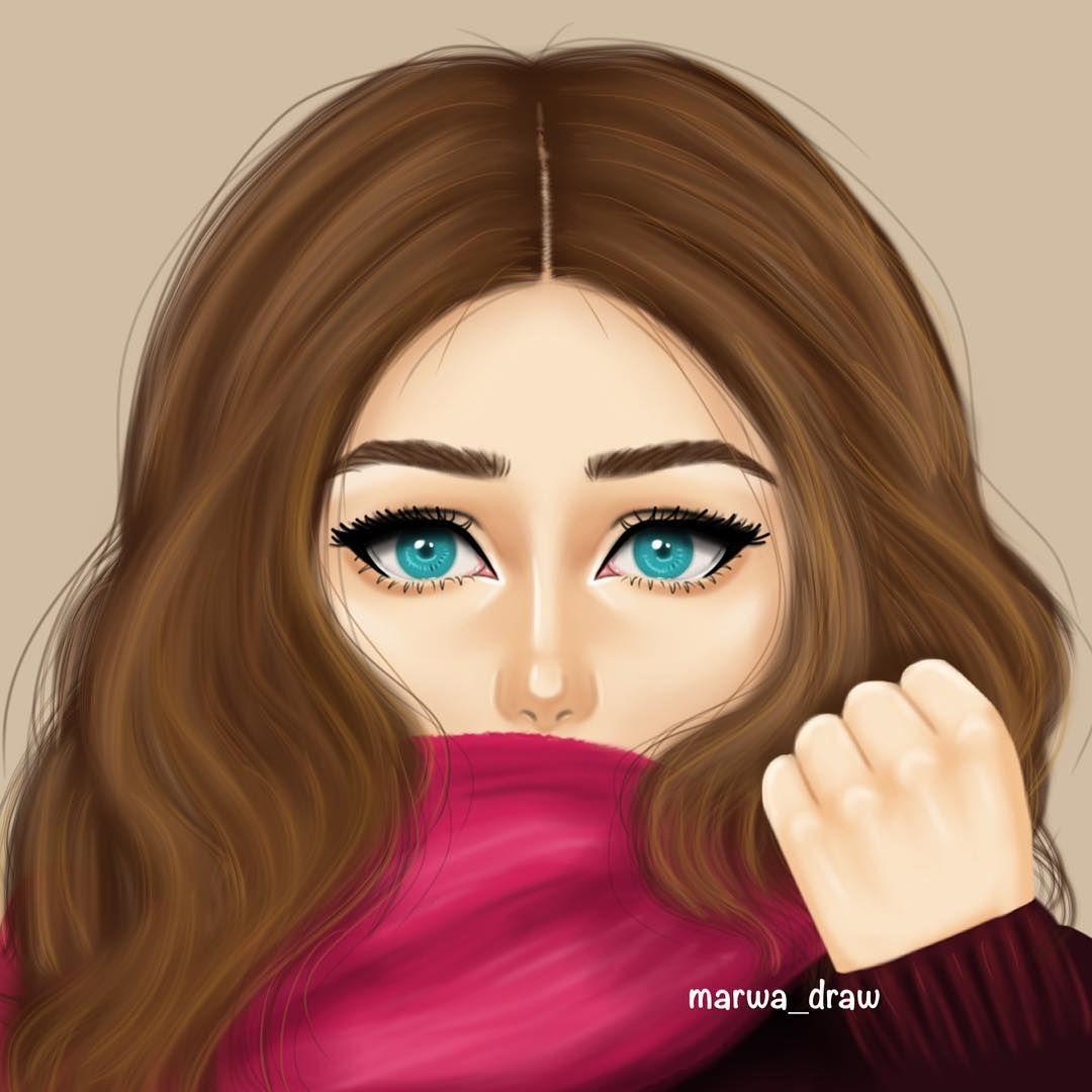 صور بنات رسم رسومات بنات جميلة كيوت Cute Girl Drawing Girly Drawings Girly M