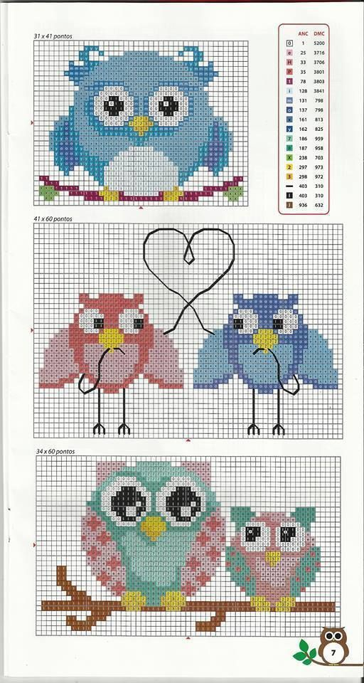 Pin de SmartCrossStitch: modern cross stitch patterns for any ...