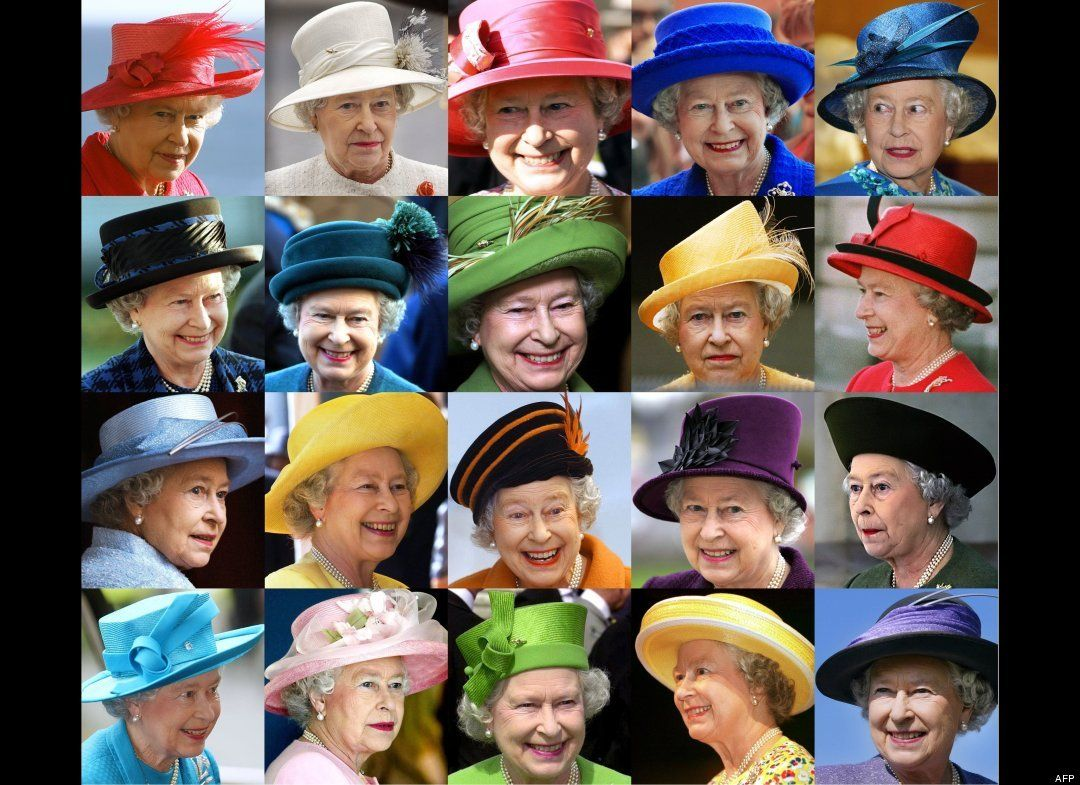 Majestic Millinery: 60 Years In Hats #queenshats