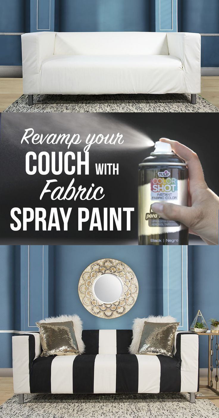 Tulip Colorshot Indoor Upholstery Spray Takes Your Home Decor Fabrics From Faded To Fabulous With A Gorgeous Co Home Decor Fabric Fabric Spray Paint Upholstery