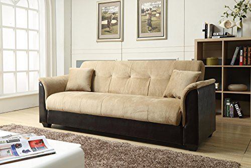 How Much Does Nhi Express Melanie Futon Sofa Bed With Storage Brown Cost