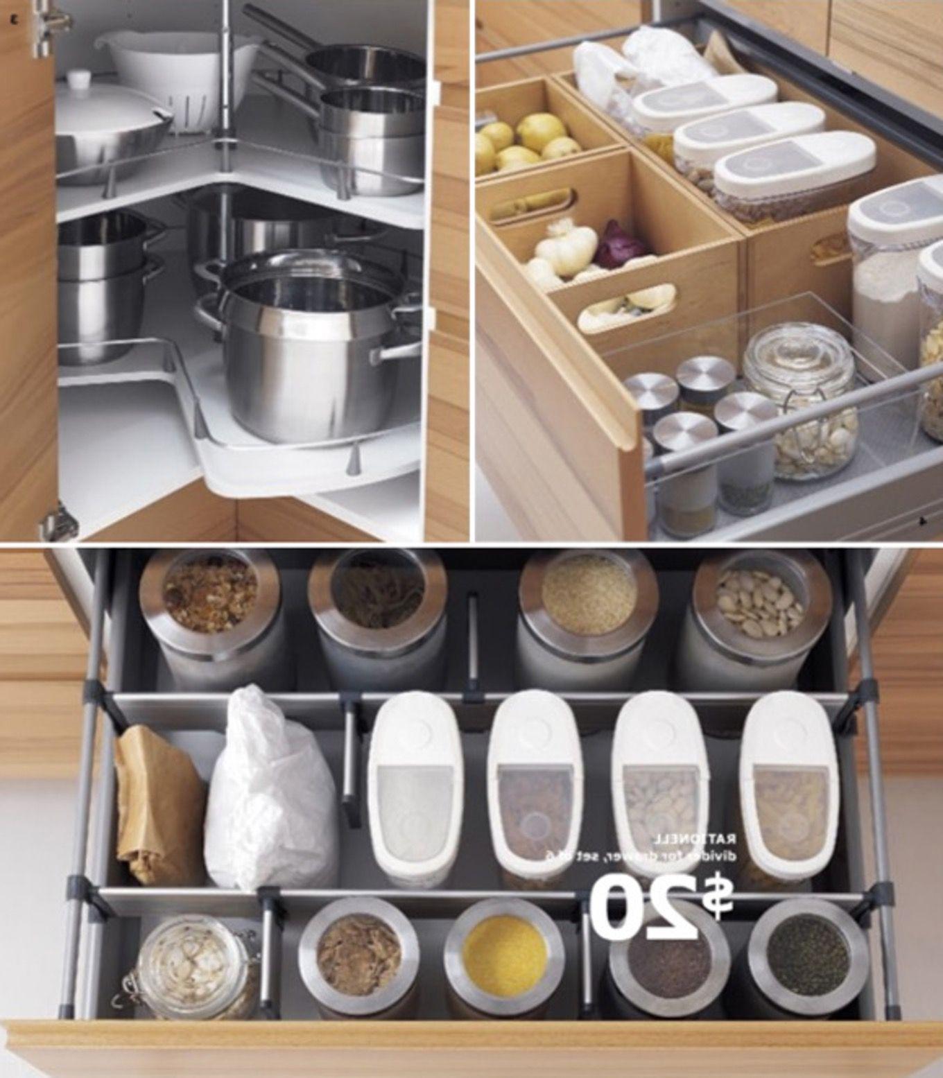 Image result for kitchen drawer for bake center | Kitchen Ideas ...