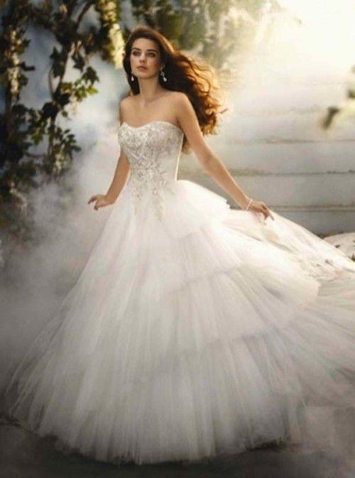 Make Fairytale Wedding by Choosing Princess Wedding Dresses ...
