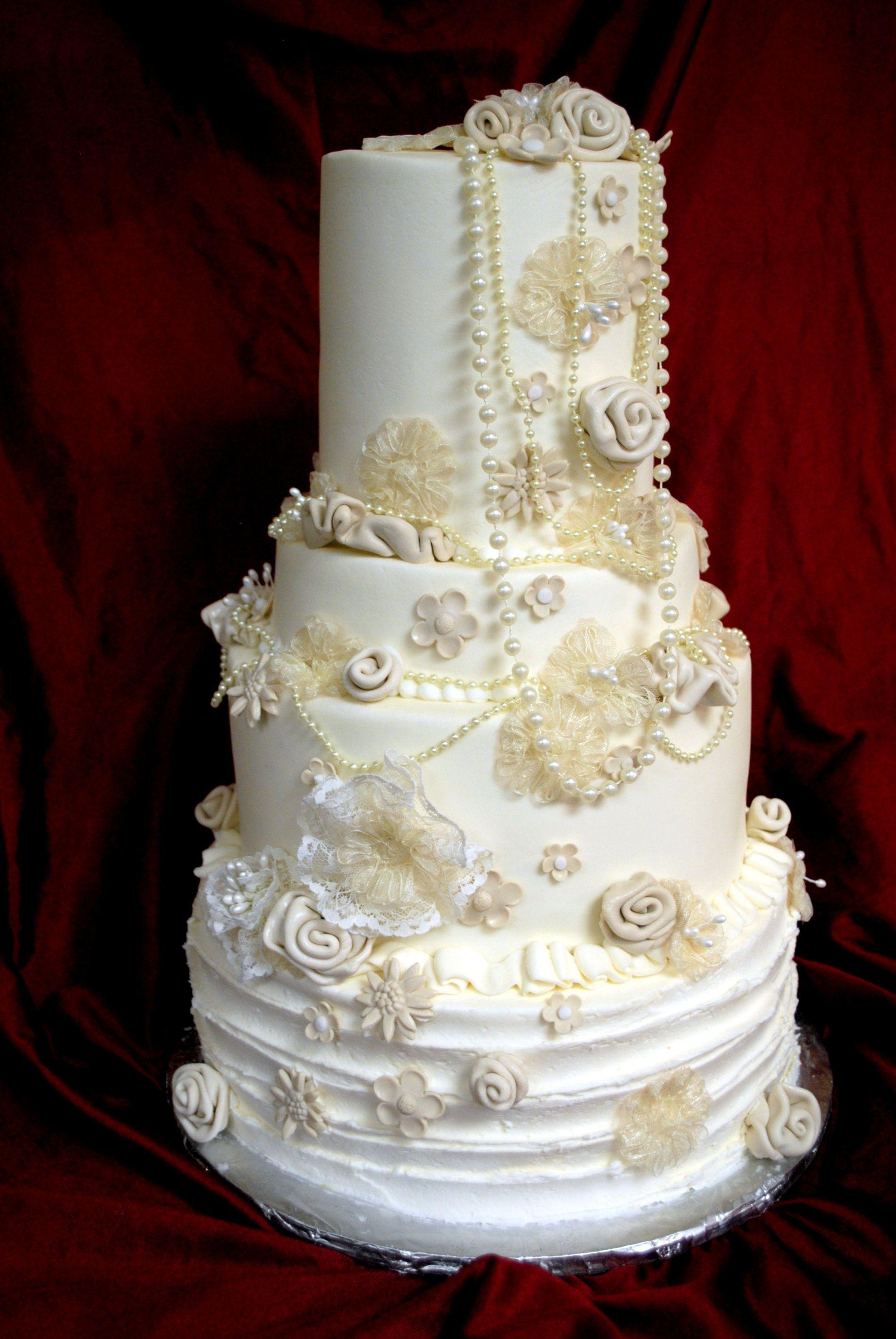 Vintage Wedding Cake   Custom Cakes   Pinterest - photo#12