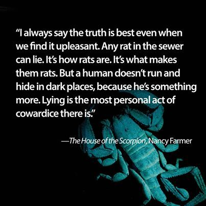 The House Of The Scorpion By Nancy Farmer Quote Aesthetic Quote Of The Week Book Study
