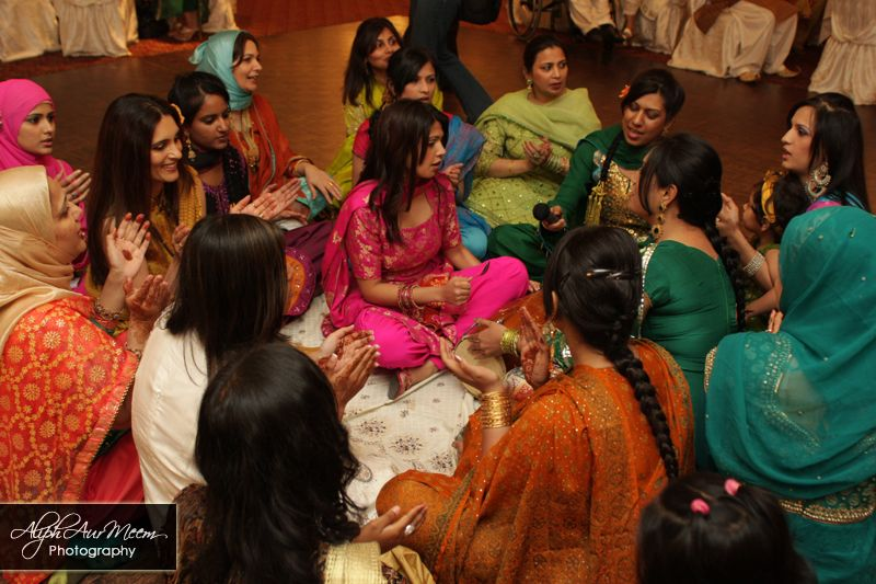 Dholki OMany Days Before The Wedding Women Gather In Grooms House To Sing And