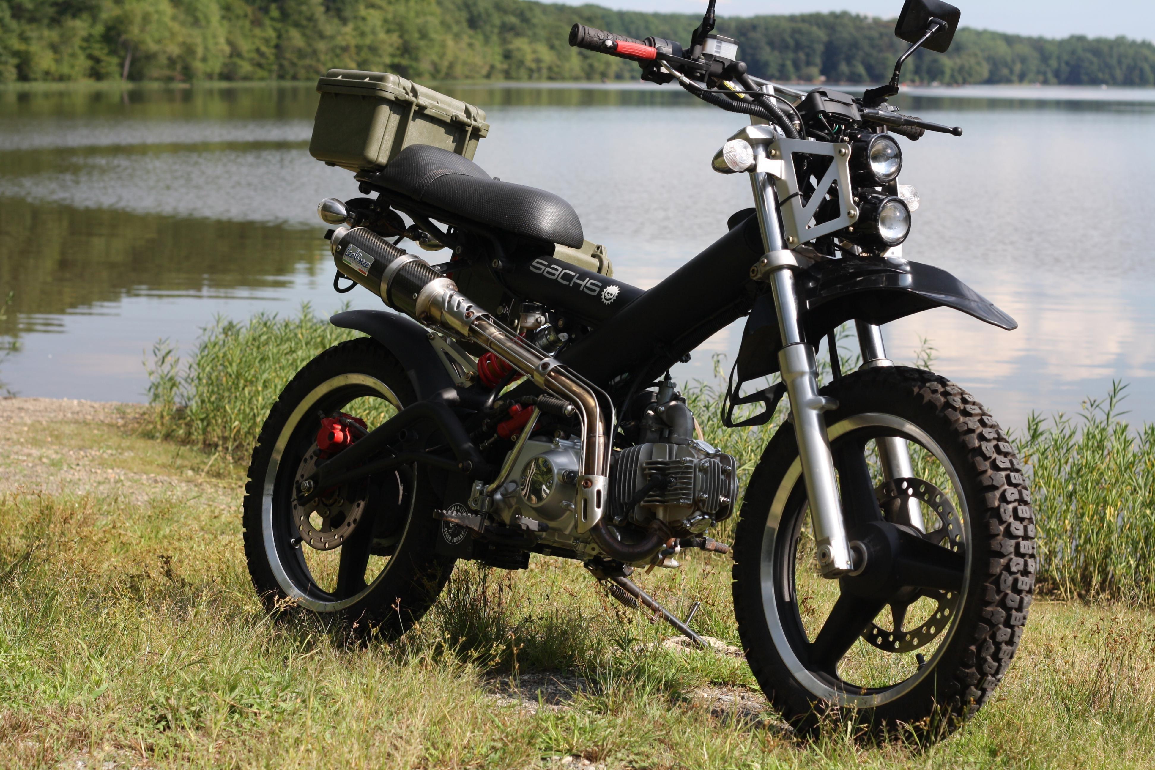 Sachs madass scooter brake lever master cylinder