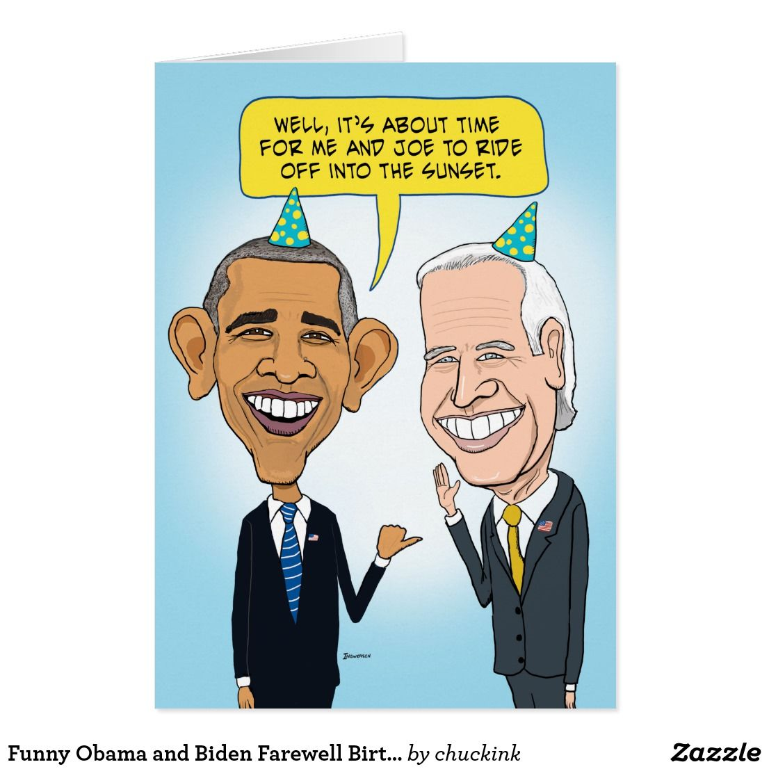 Obama and biden farewell birthday card funny obama and biden farewell birthday card kristyandbryce Choice Image