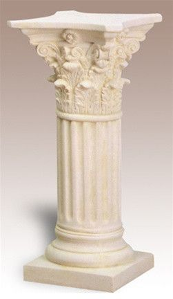 Ancient Clical Column Replica Which Can Be Used As A Dining Room Table Just Add Gl Top