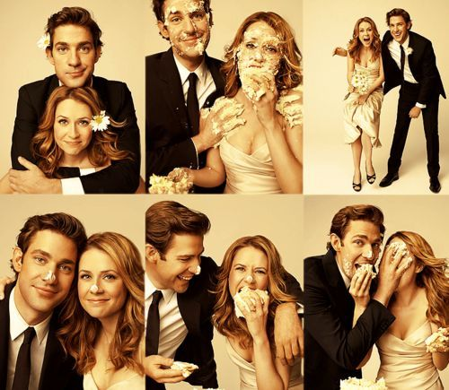 The Ofiice Wedding Photoshoot Idea The Office John Krasinski The Office Show
