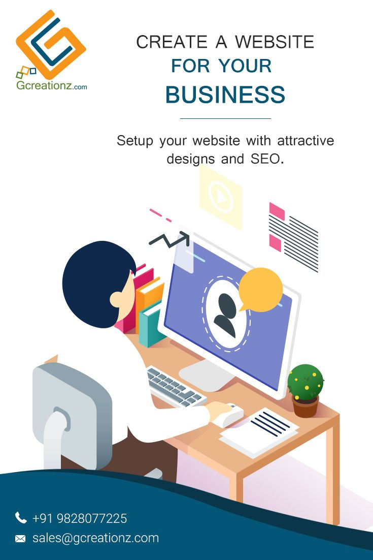 Are you planning to own a website? GCreationz is a website