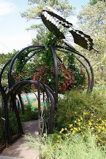Butterfly Gate Great Focal Point And Whimsy Garden Structures