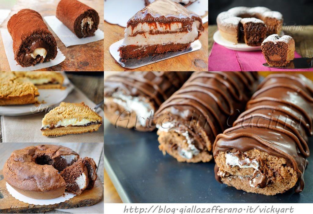 Torte alla nutella e al cioccolato
