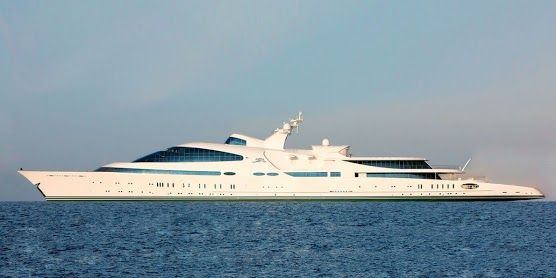 Ranked The 17 Biggest Private Luxury Yachts In The World With