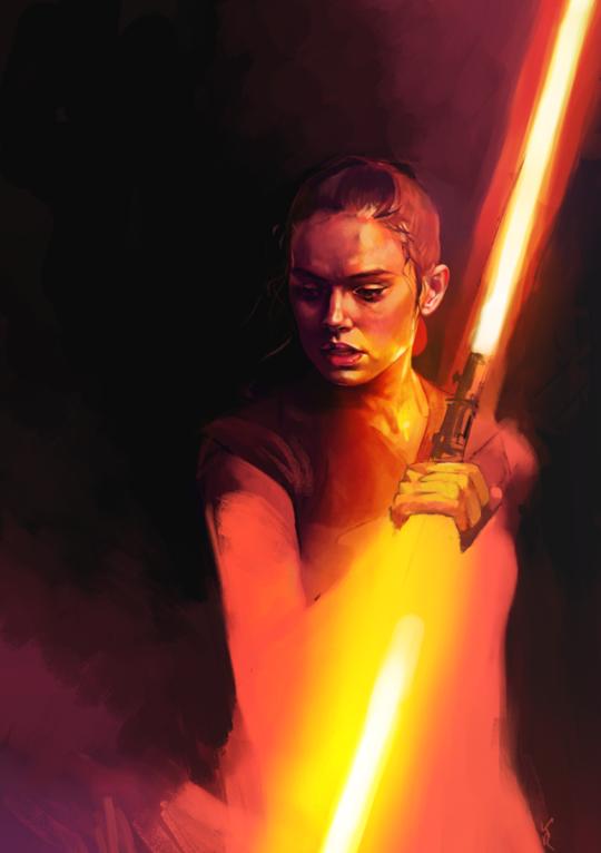 By Kittrose Rey Star Wars Star Wars Fan Art Star Wars Poster