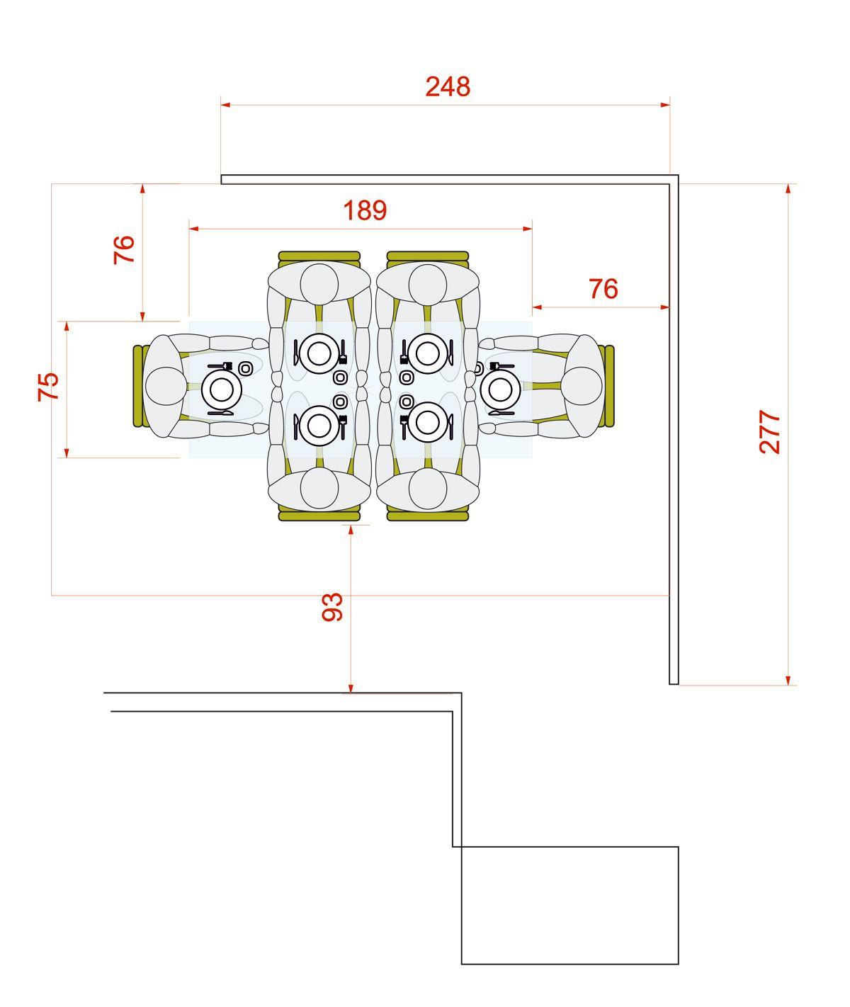 Medidas Para Mesa De Comedor Para 6 Personas Circular O Rectangular Lagoa Mesas De Cocina Mesa De Comedor Medidas Mesa Comedor