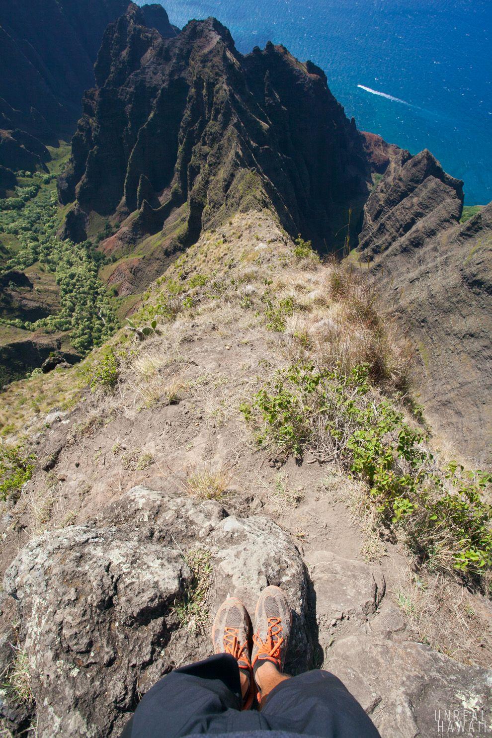 Hiking In Hawaii On The Awa'awapuhi Trail
