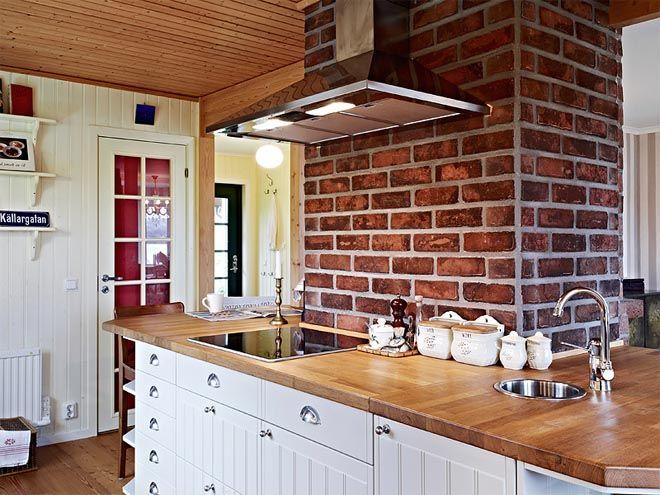 cocinas de ladrillo rustico Casa De Campo Diseo Interior Rustico Actual Casas De