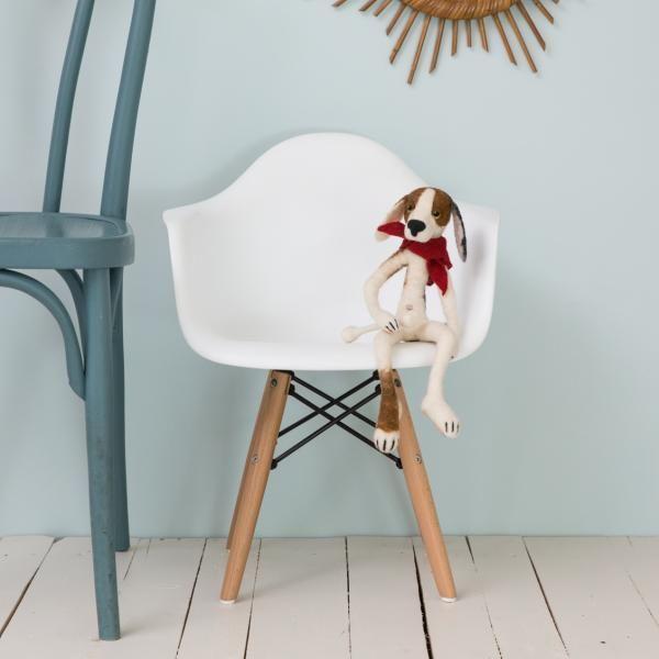 fauteuil enfant blanc inspiration eames enfants