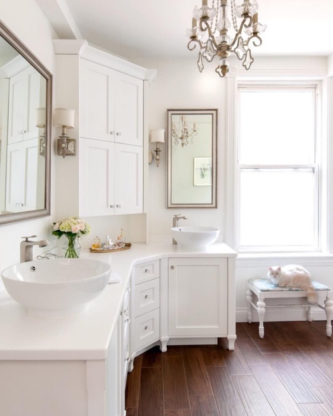 bathroom via happyhappynester on ig | house | Pinterest | Bath, Bath ...