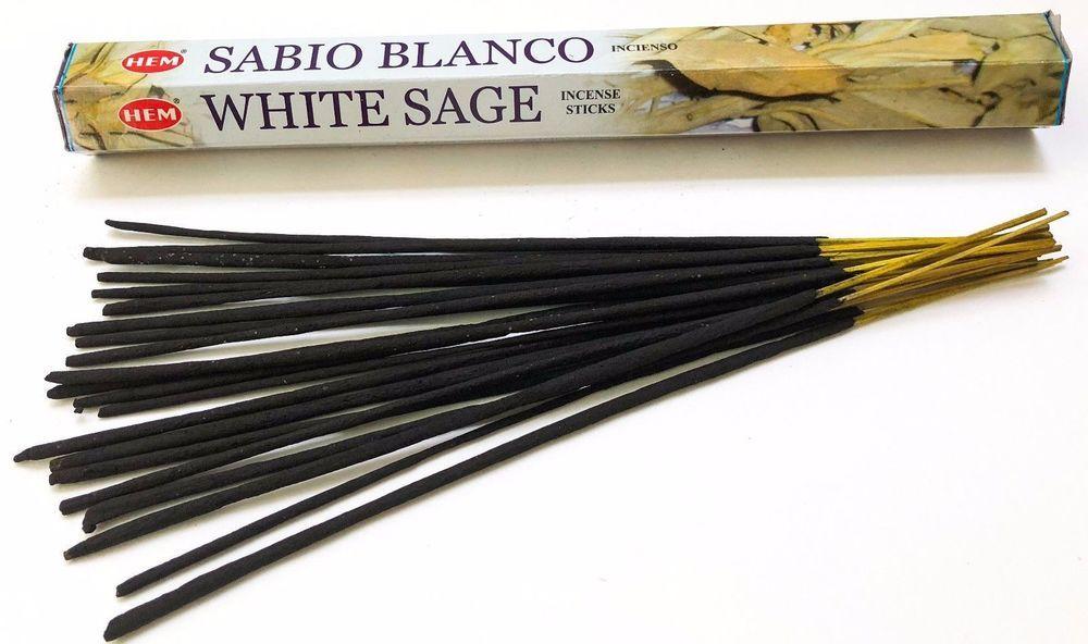 Original Hem White Sage Incense Stick Pack Of 20 Sticks Buy 1 Get 1 At 50 Off Hem Incense Sticks Incense Incense Sticks Holder
