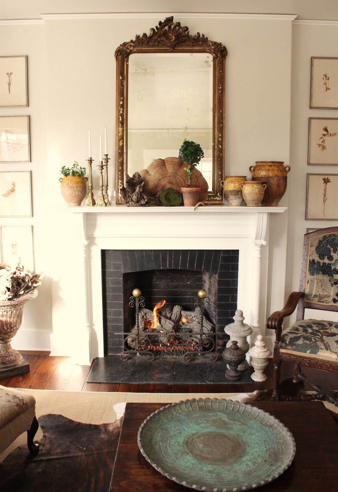 15 Stylish Winter Mantels Decor Home Decor Fireplace Mantle