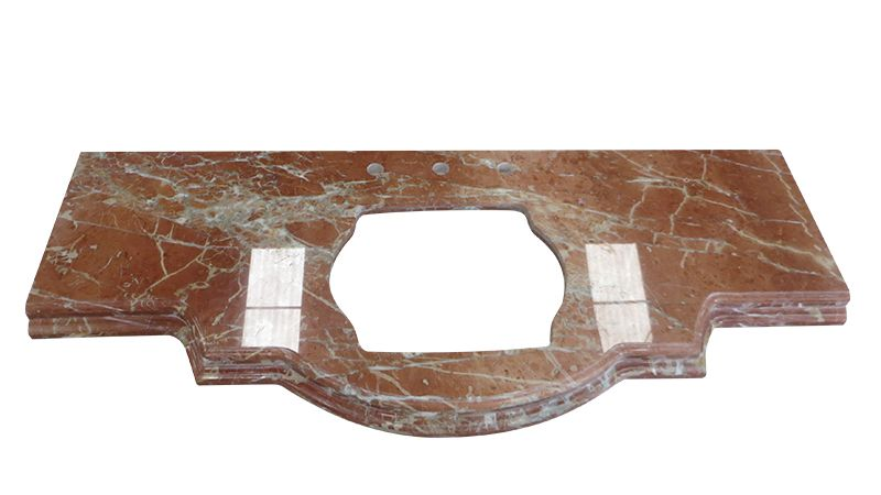 Rojo Alicante High Grate China Marble Supplier Mable Countertops