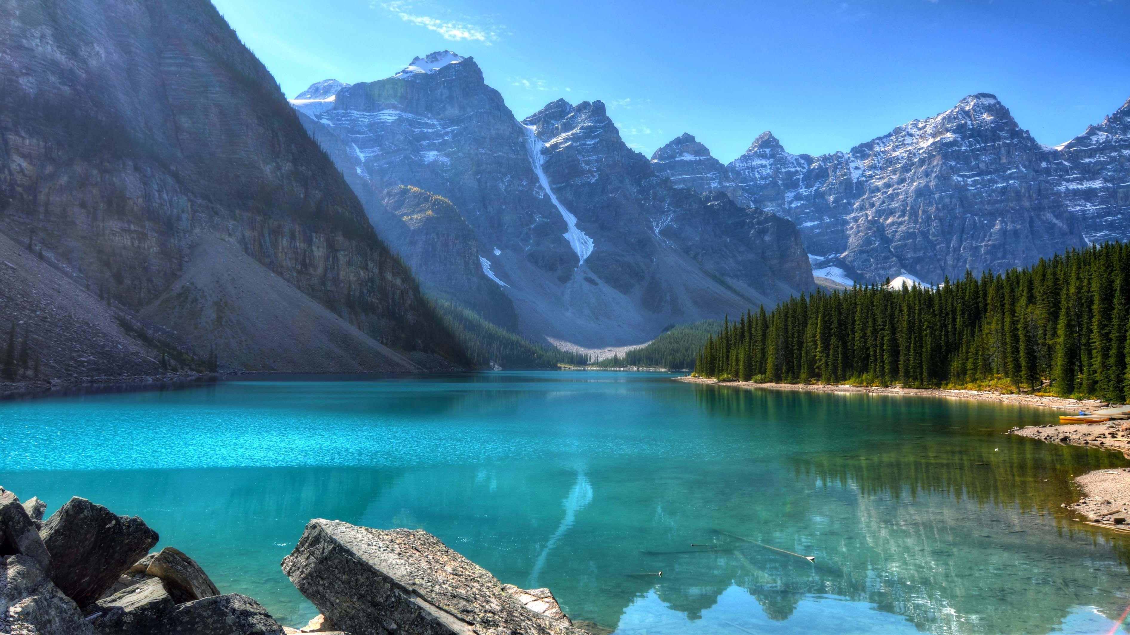 Montagne Lac Image Fond Ecran Lac Vacances Montagne