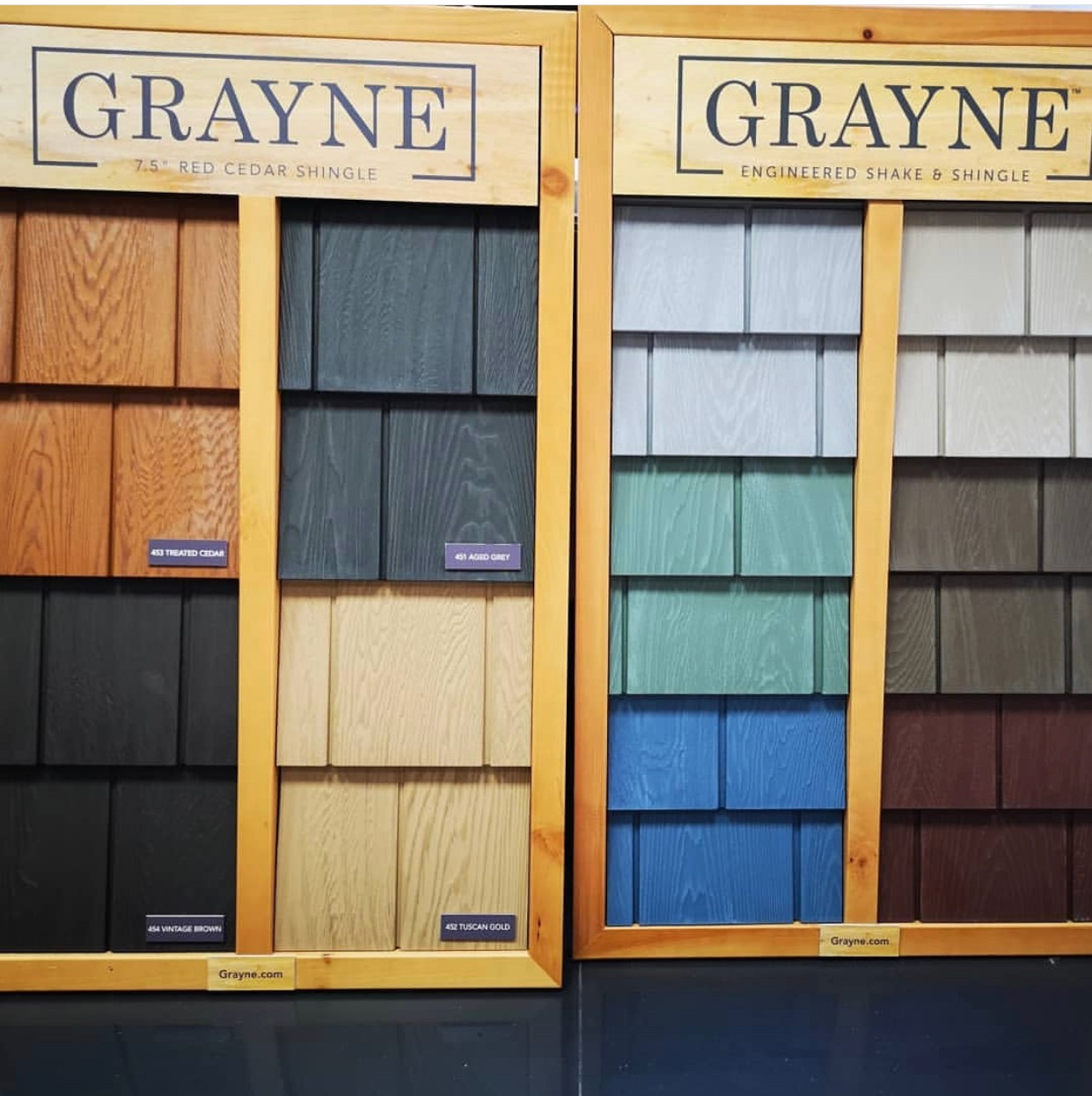 Best Grayne Engineered Cedar Shingles Are Available In 5 Red Cedar And 7 5 White Cedar Profiles 640 x 480