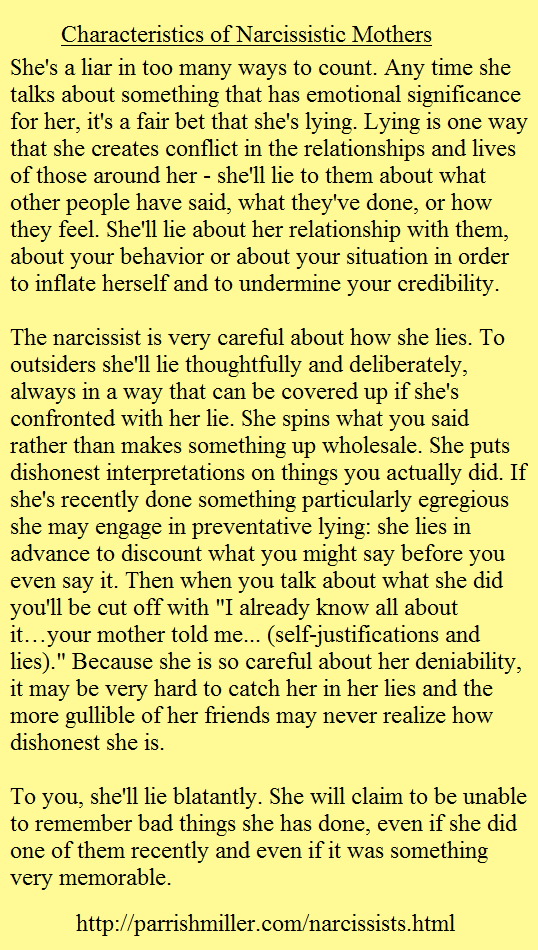 life like when your dating a narcissist People can possess various narcissistic tendencies without having narcissistic personality disorder (npd) but if you can check off five or more statements above, you are dating a narcissistic personality.